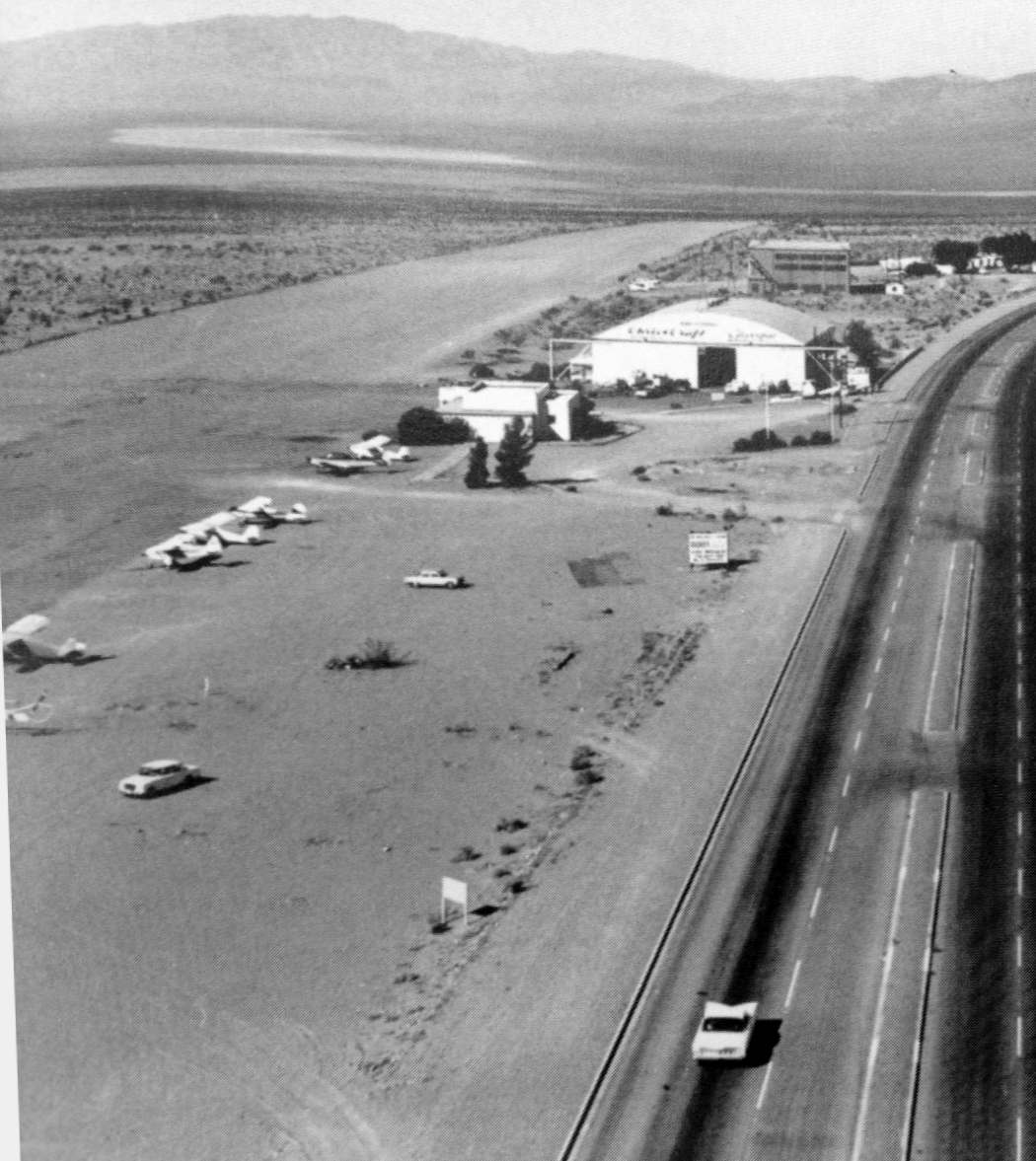 Historic Boulder City Airport in Southern Nevada