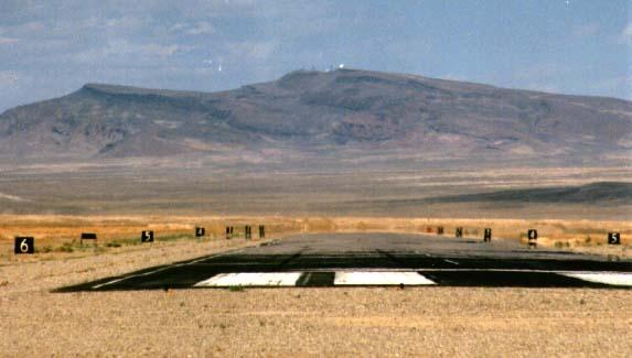 Area 51 landing strip markings