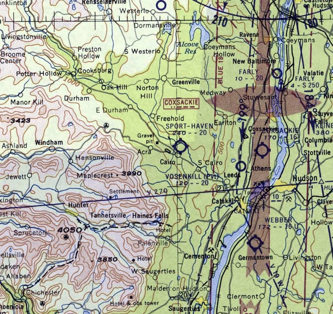 Abandoned & Little-Known Airfields: Albany Area
