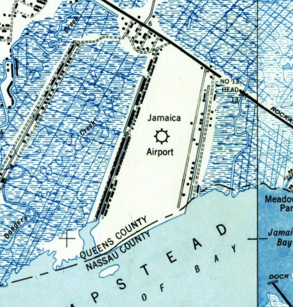 Map Of New York Jamaica.Abandoned Little Known Airfields New York City Queens