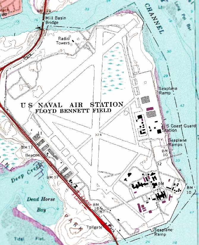 Abandoned LittleKnown Airfields New York City Brooklyn - Us coast guard bases map