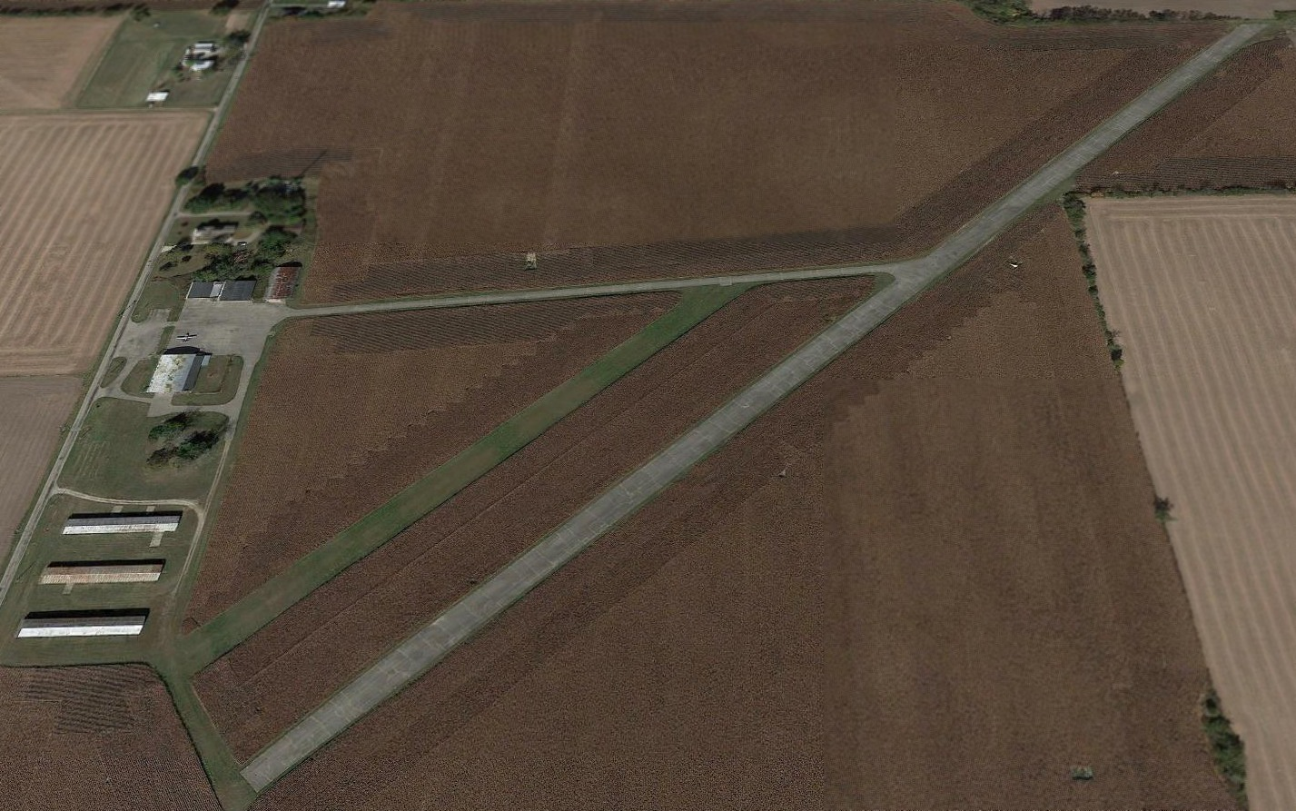 Abandoned & Little-Known Airfields: Southwestern Ohio