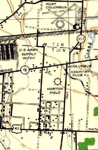 Denton Ohio Map.Abandoned Little Known Airfields Central Ohio