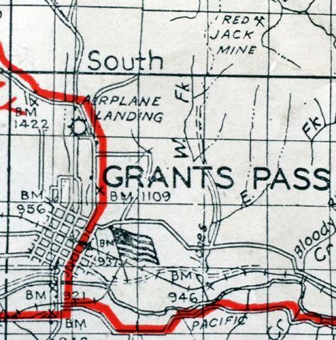 street map grants pass oregon