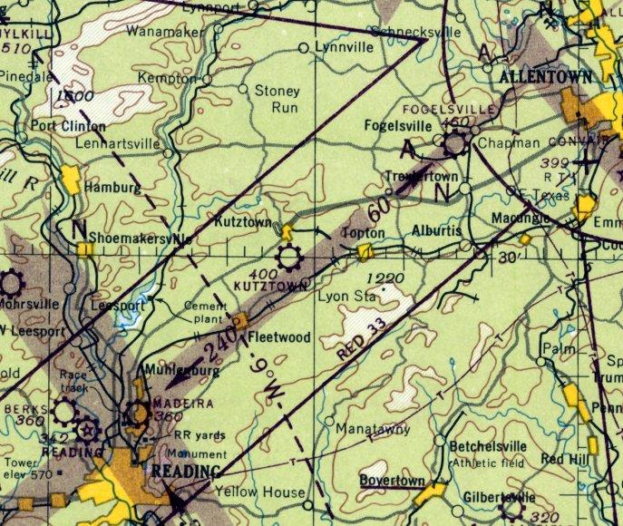 Abandoned & Little-Known Airfields: Pennsylvania: Allentown area