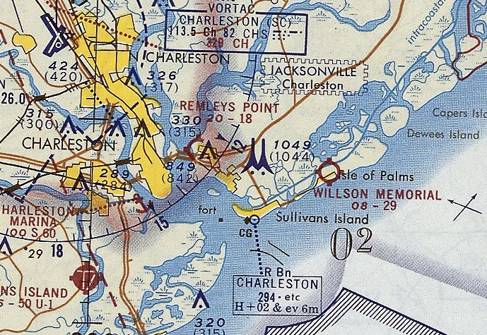 The 1968 Usgs Topo Map Still Labeled It As Pinckney Airfield