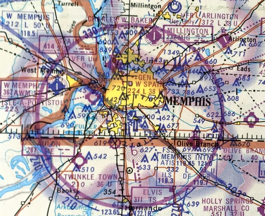 dd12ae2b548 The last aeronautical chart depiction which has been located of Arlington  Airport