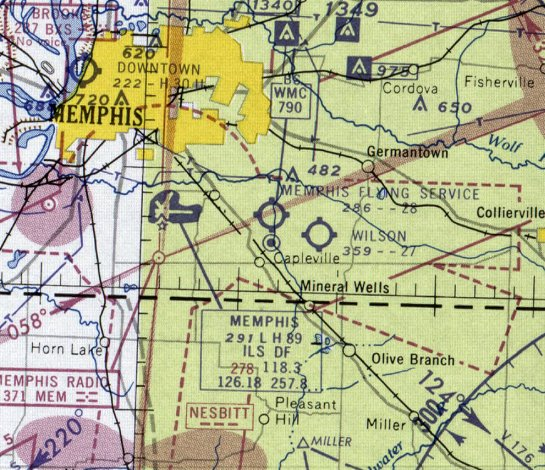 8da37cc6ee0 The last aeronautical chart depiction which has been located of the Memphis  Flying Service Airport was on the February 1960 Chattanooga Sectional Chart.