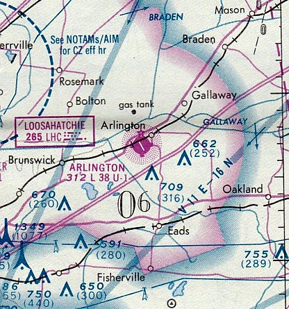 413da9a2fde The earliest aeronautical chart depiction which has been located of  Arlington Airport
