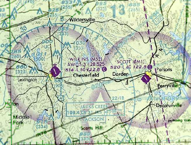 7a64a842c16 The last aeronautical chart depiction which has been located of  Franklin-Wilkins Airport