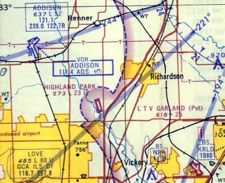 Park Cities Dallas Map.Abandoned Little Known Airfields Texas Northern Dallas Area
