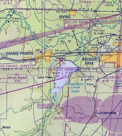 Abandoned & Little-Known Airfields: Texas - Southern Dallas area