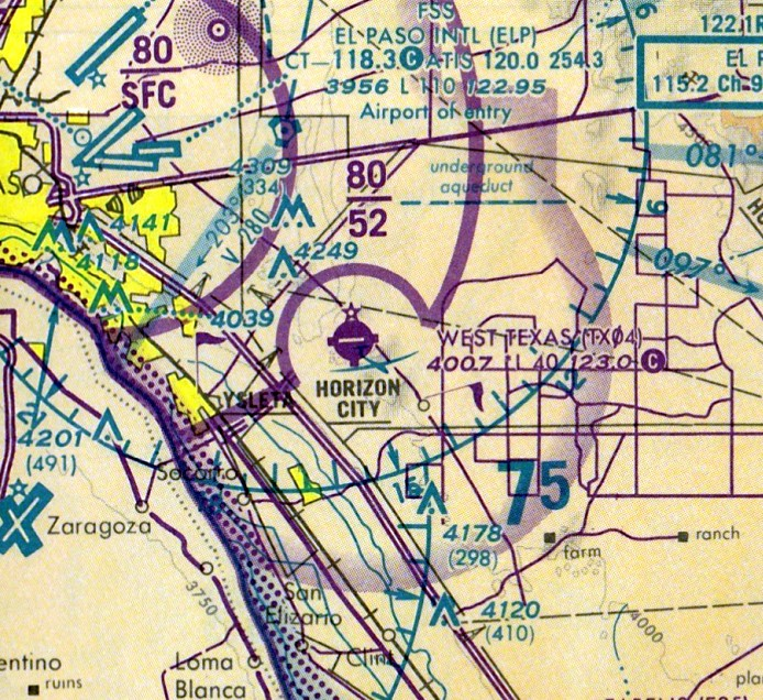 Abandoned & Little-Known Airfields: Texas - El Paso area