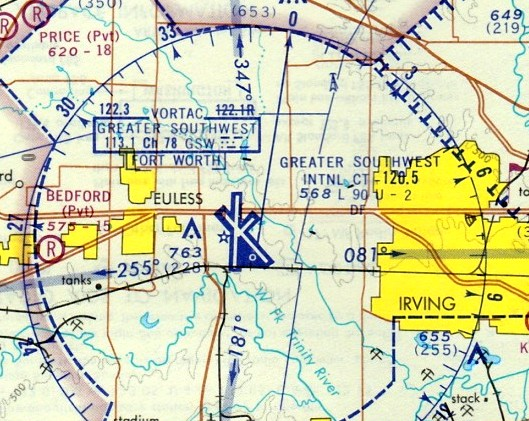 Greater Dallas Map.Abandoned Little Known Airfields Texas Northeast Fort Worth