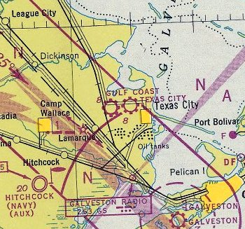 Map Of Texas Gulf Coast Cities.Abandoned Little Known Airfields Texas Southeastern Houston Area