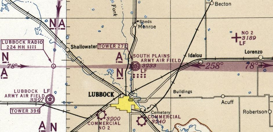 Abandoned LittleKnown Airfields Texas Lubbock area