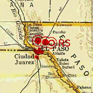 Resultado de imagen para paso texas mapa