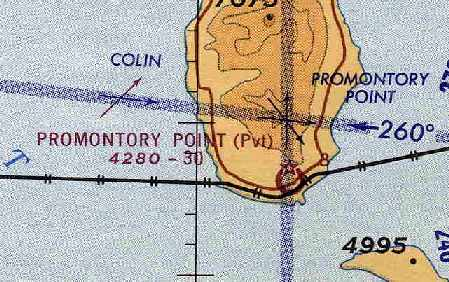 the status of the promontory point airfield apparently changed to a private field at some point between 1955 65