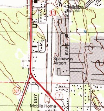 Abandoned Little Known Airfields Washington Tacoma Area