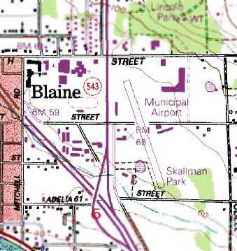 Blaine_WA_91topo Map Of Northwestern Wa on puget sound wa map, western wa map, northern wa map, eastern wa map, central wa map,