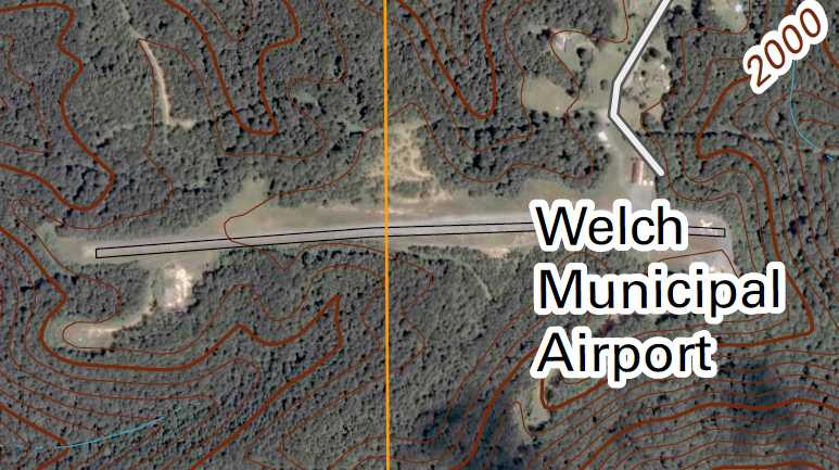 Abandoned & Little-Known Airfields: Southwestern West Virginia